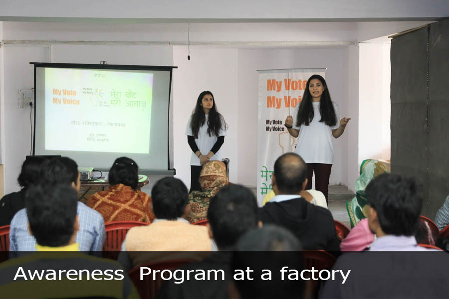 Awareness Program at a factory-2
