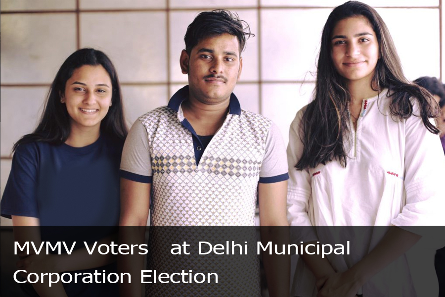 MVMV Voters at Delhi Municipal Corporation Election-1