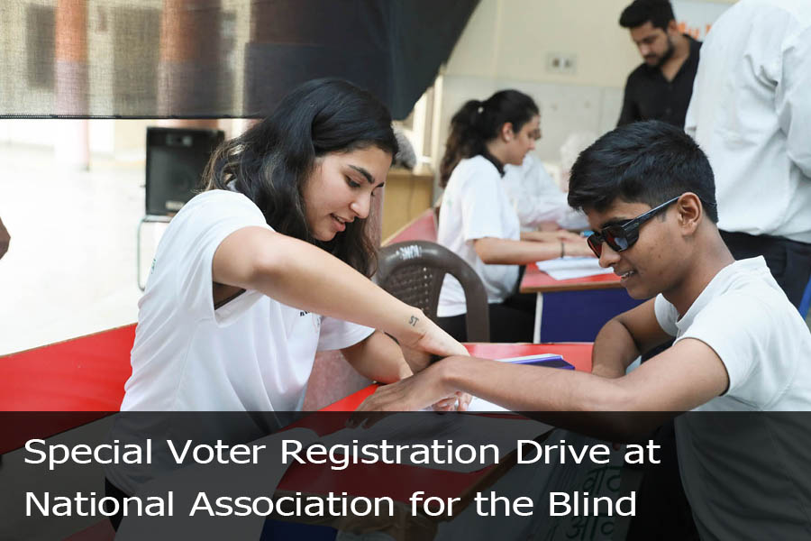 Special Voter Registration Drive at National Association for the Blind-3