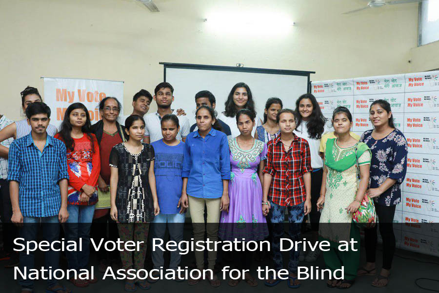 Special Voter Registration Drive at National Association for the Blind-4
