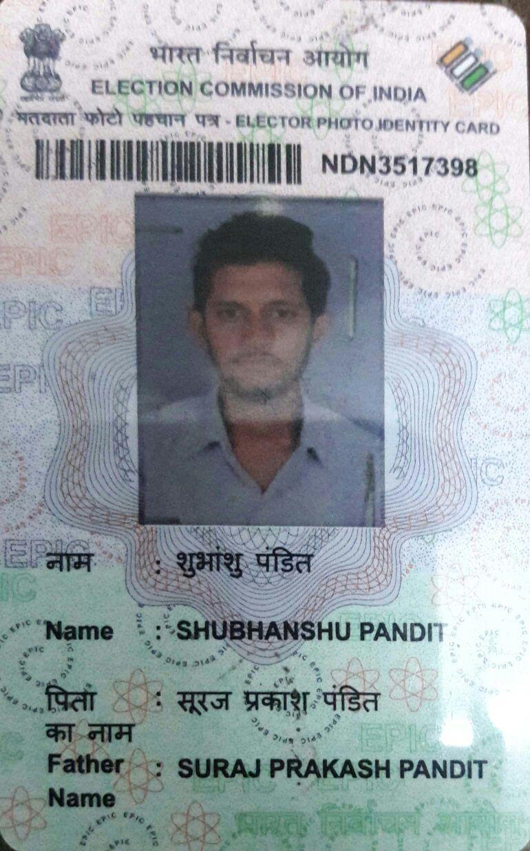 SHUBHANSHU PANDIT